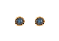 Moon Tide Studs in Gold
