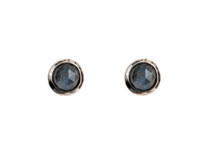 Moon Tide Studs in Silver