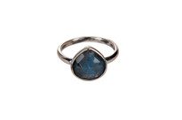 Aris Ring with Labradorite