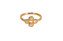 Artemis Ring with Moonstone