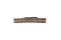 Hunter Leather Bracelet in Brown Shimmer