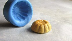 Dollhouse Food Mold- Jell-O or Bundt Cake Mold (Style B) - 1/12 scale