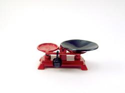 Dollhouse Miniature Kitchen Scale - 1/12 scale