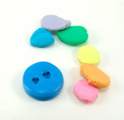 Polymer Clay Mold - Dollhouse Miniature Conversation Hearts