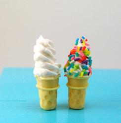 Ice Cream Cone Mold - Dollhouse Miniature Cone Flexible Silicone Mold