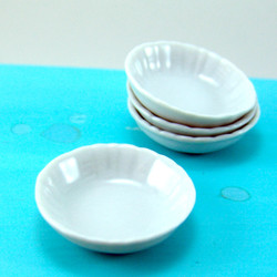 Dollhouse Miniature Bowl, Large and Shallow - 1/12 scale