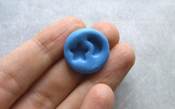 Dollhouse Miniature Mold Star and Moon - 1/12 scale