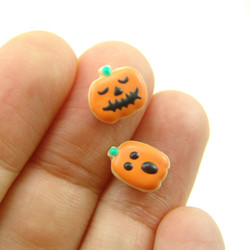 Silicone Mold // Dollhouse Pumpkin Cookies Mold in 1/12 Scale // Halloween Mold