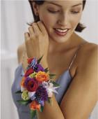 Garden Splendor Wrist Corsage