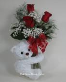 Cuddly Valentine Bouquet