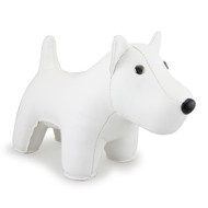 Classic West Highland Terrier Bookend - White
