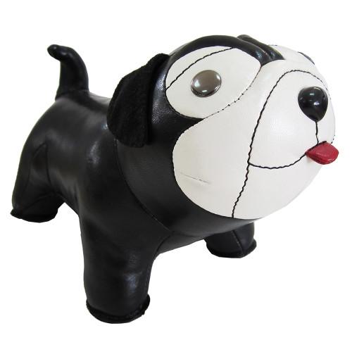 Classic Pug Bookend - Black/White