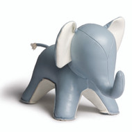 Abby the Elephant Bookend - Blue
