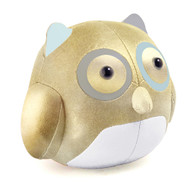 Cicci Owl Bookend - Gold/Blue/Grey/White