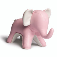 Abby the Elephant Bookend - Pink