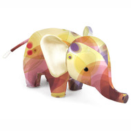 Zuny Kaleidoscope Elephant Bubble Pink/Yellow
