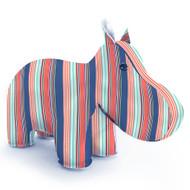 Zuny Kaleidoscope Hippo Stripe Blue/Red/Green