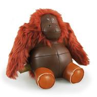 Classic Orangutan Bookend - Tan