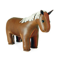 Zuny Classic Horse Paperweight - Brown