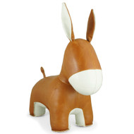 Yale the Donkey Bookend - Tan