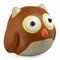 Cicci Owl Bookend - Tan
