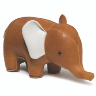Classic Elephant Bookend - Tan