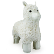 Zuny Classic White Lama Bookend