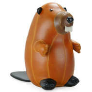 Classic Beaver Paperweight - Tan