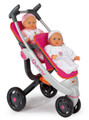 Smoby Maxicosi 3 Wheel Dolls Pushchair and Pram