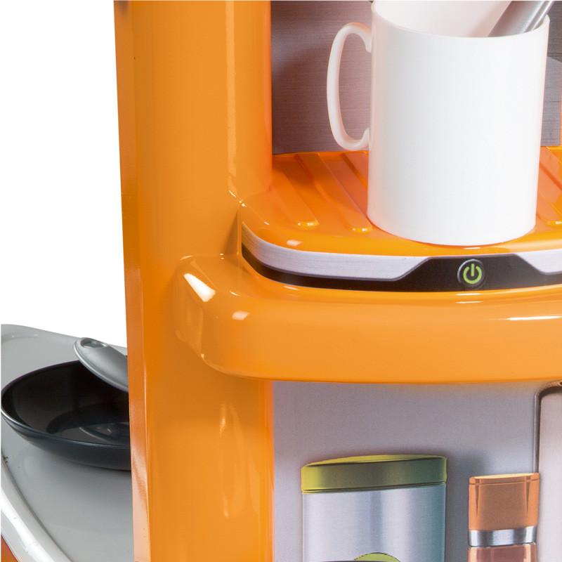 Kitchen Set Orange: SMOBY CHILDRENS ORANGE TEFAL COOKER STUDIO PLAY KITCHEN