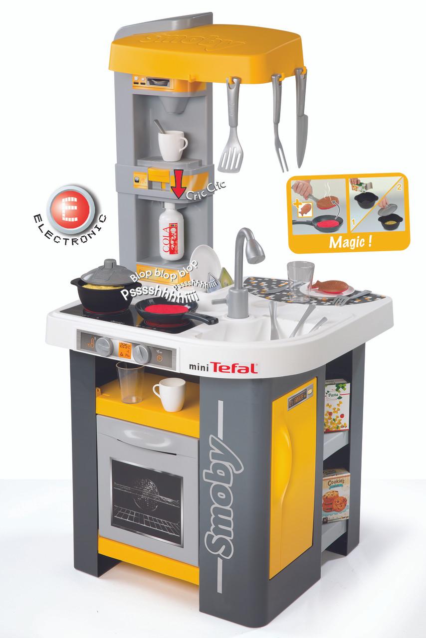 smoby kids tefal mini studio roleplay toy kitchen. Black Bedroom Furniture Sets. Home Design Ideas