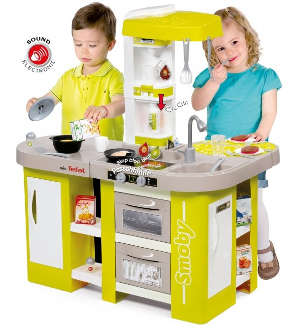 smoby tefal cuisine studio xl children 39 s play toy kitchen. Black Bedroom Furniture Sets. Home Design Ideas