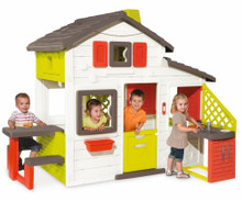 New Smoby Kids Playhouse Friends House With Kitchen