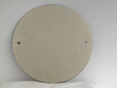Double sided electroplated steel diamond disc, #120/#400 , 12 inch diameter