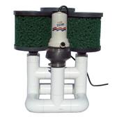 Bottom Feeder 15000 Gallon Pond Open Power (Solar Wind or Other) 120-watt Pump and Filter System