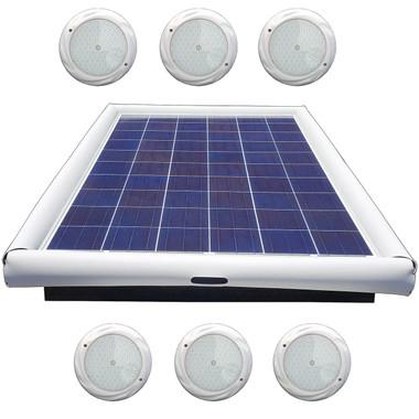 Savior Light SMD LED RGB 15000 Lumens 120-watt Solar Powered Pool Spa Pond Color Light with Remote