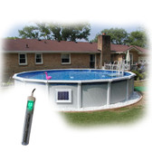 Above Ground Pool Magnet Wireless Power Salt Generator System 1