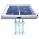 Savior UV Ultraviolet Pool Spa Sanitation Disinfection Systems 60-watt Solar Powered 20000 Gallon