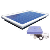 Savior Ultrasonic Pool Pond Algae Sanitation Disinfection Systems 220-watt Solar Powered 75,000 Gallon