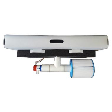 Savior Eliminator Pool Eliminator Solar Pump Filter Cleaner and Ionizer 30w