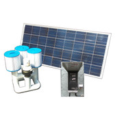 Bottom Feeder 15000 Gallon Pool or Spa 120-watt Solar Pump and Filter System