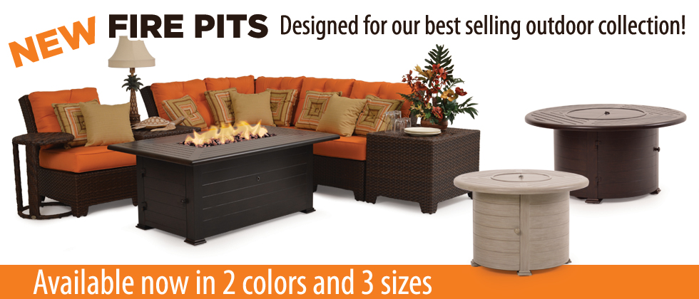 New Fire pits are a perfect match for your patio furniture
