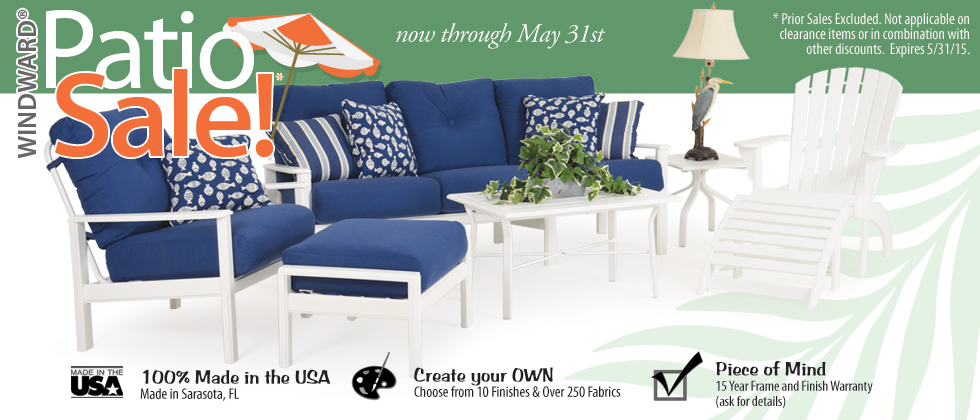 Windward Patio Furniture On Sale