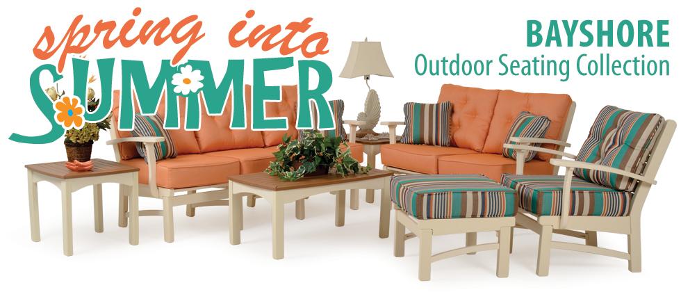Bayshore Outdoor Poly Lumber Seating
