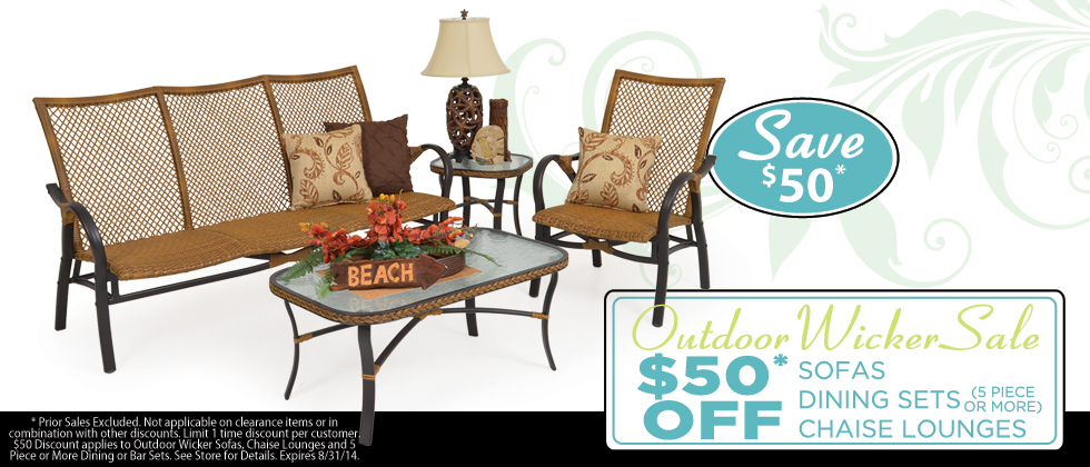 Empire Outdoor Wicker Sale