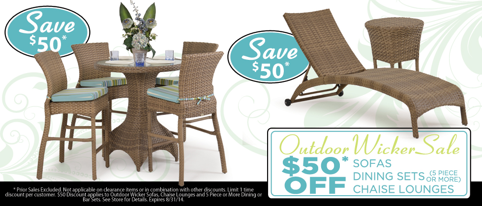 Kokomo Outdoor Wicker Sale