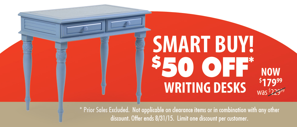 Writing Desks On Sale