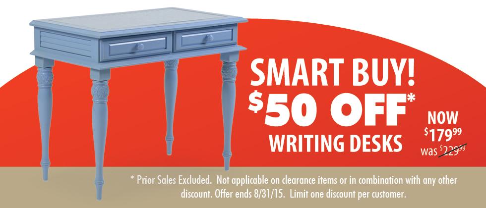 Writing Desks On Sale