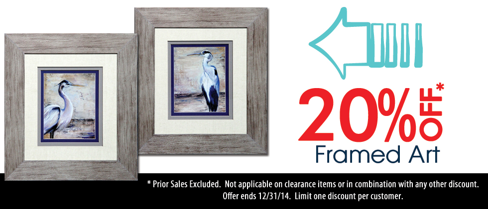 Framed Wall Art on Sale