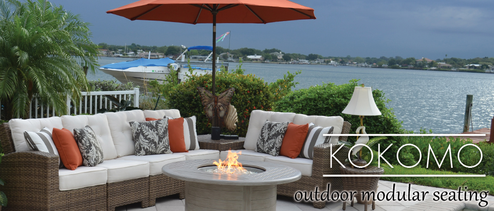 Kokomo Outdoor Wicker Sectional